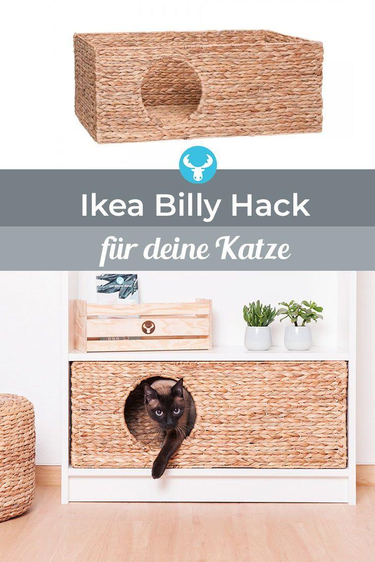 Katzenkörbchen für Ikea Billy Regal