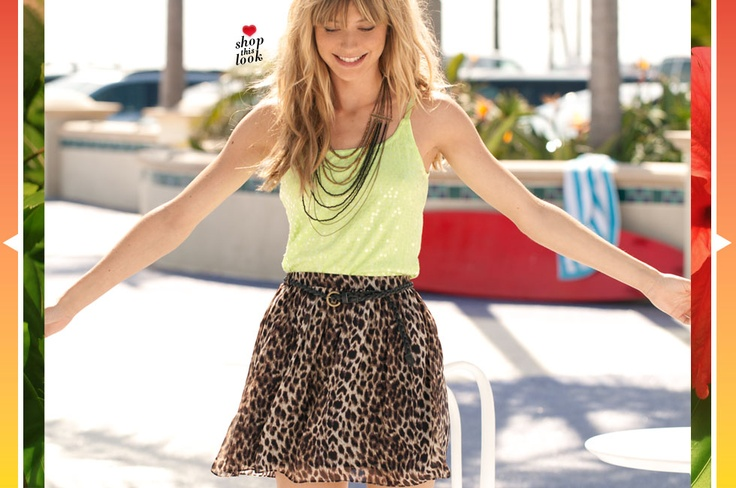 I really want this outfit. The lime green blends perfectly with the skirt! I wish I could have created that outfit! #WetSealSummer #Contest: Days Pinterest, Wetseal Contest, Wet Seal Summ, Wetsealsummer Contest, Lime, Wetsealsummer Wetsealcontest, Seal Hot, Pinterest Contest, Summer Days