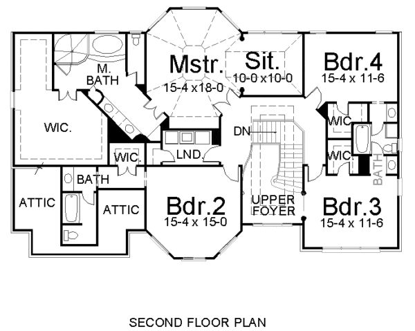 36 best floor plans images on pinterest victorian house plans Cape Cod Greek Revival House Plans second floor plan of european greek revival victorian house plan 72105 bdr 2 into Traditional Cape Cod House Plans