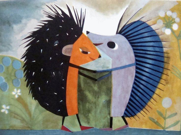 Krystyna Witkowska -- 1960s from Przygody jeża spod miasta Zgierza by Wanda Chotomska