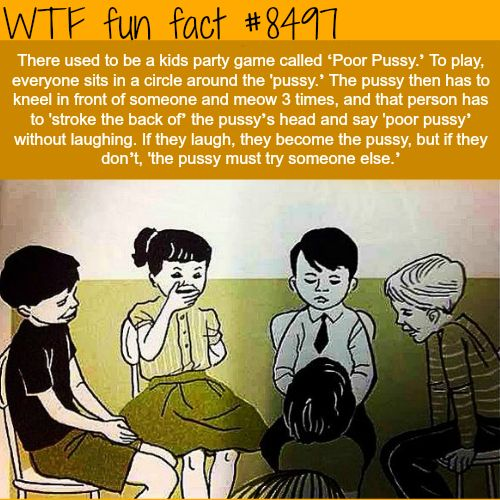 The 'Poor Pussy' Kids Game - WTF fun facts