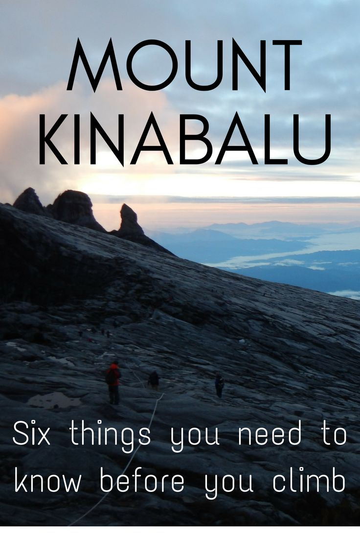Unprepared: what we were before we climbed Mount Kinabalu. Here's six things we think you should know before attempting Malaysia's tallest peak #malaysia #acrosslandsea
