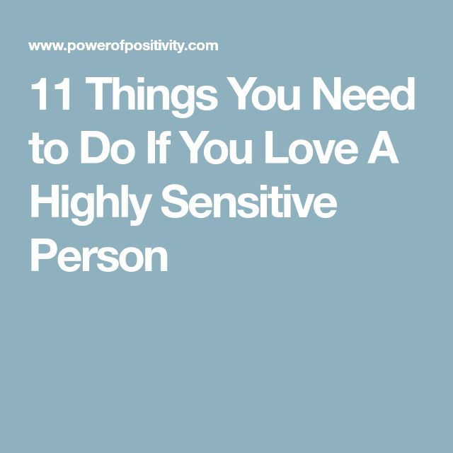 highly sensitive person in love pdf