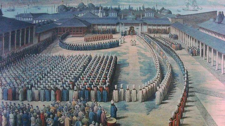 Osmanlıda kurban bayramı.