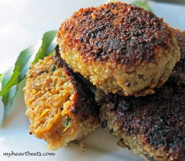 Indian Beef Cutlets (Paleo) - My Heart Beets. These need to be prepared the day before. They are tasty and it makes a large batch of patties.