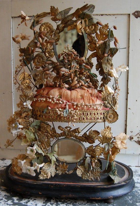 Antique French Globe de Mariee by BirdSongStudio on Etsy, $450.00