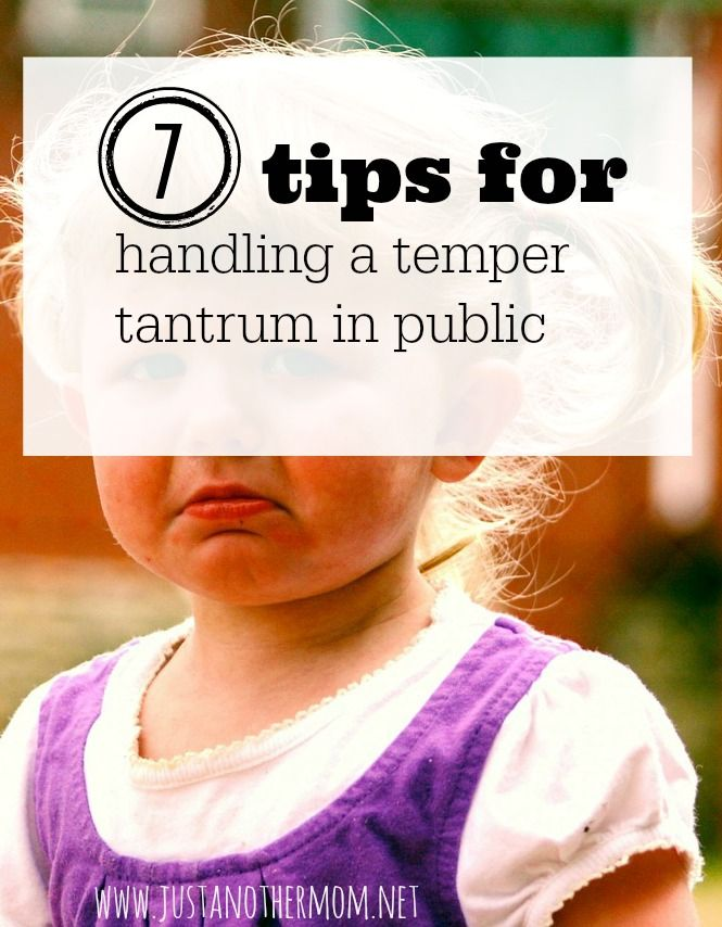 Temper tantrums and toddlers seem to go hand in hand. Here's 7 tips on motherhood for handling temper tantrums.
