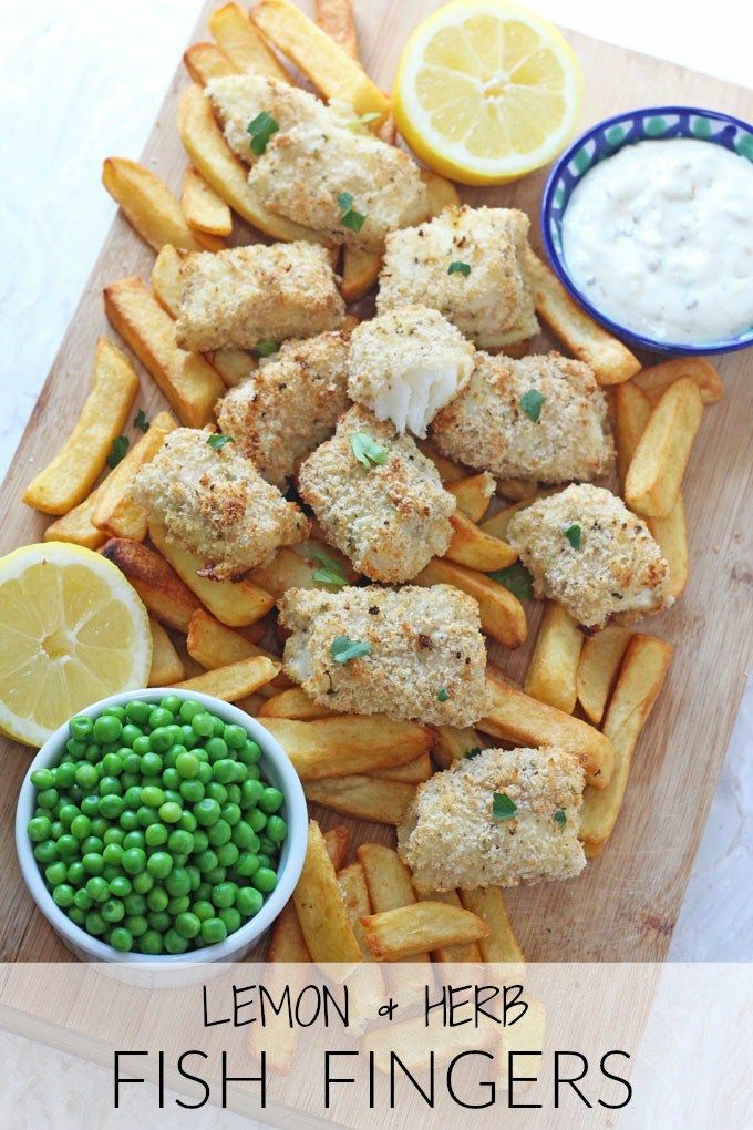 Super easy to make and really healthy too, your kids are sure to love my recipe for these Lemon & Herb Fish Fingers.