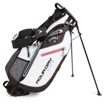 """Bolsa de golf Callaway Aqua Dry Lite con trípode. La bolsa para palos de golf Aqua Dry Lite de Callaway es una bolsa con trípode que con una boca de acceso de 9,5"""""""