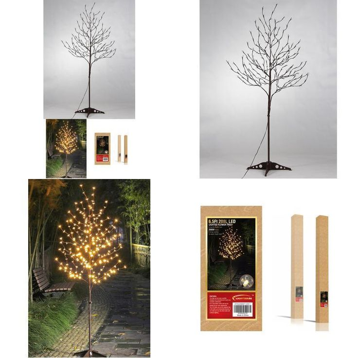 Xmas Led Tree Blossom Outdoor Christmas Decor 6 Feet Warm White Light Pool Party #Lightshare ,#Christmas,#tree,#decor,#Santa,#xmas,#decoration,#inflatable,#holiday,#party,#sandaclaus,#yard,#garden,#patio,#accessories