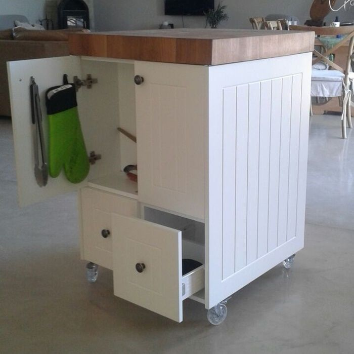 Best 25 Industrial Kitchen Island Ideas On Pinterest: Only Best 25+ Ideas About Kitchen Carts On Wheels On