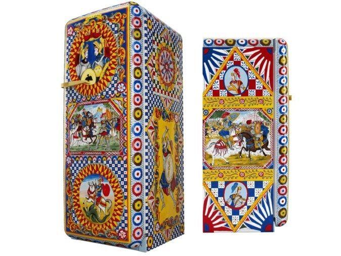 Casinha colorida: Rapidinha: refrigeradores Smeg FAB28 by Dolce&Gabbana