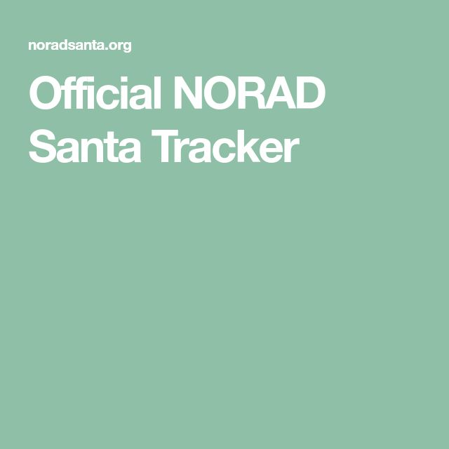 Official NORAD Santa Tracker | SEE: https://www.facebook.com/photo.php?fbid=10214501811401581&set=a.10210234557562902.1073741834.1308992193&type=3&theater
