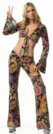Go Go Dancer 1960s  Costume Adult Size 7-9