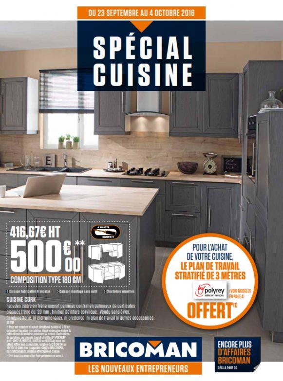 cuisine bricoman meuble cuisine
