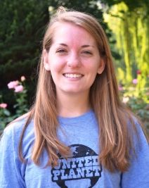 """Kait is our Short-Term Program Coordinator. She is """"so excited to be able to help others explore different various parts of the world."""" #teamUP"""
