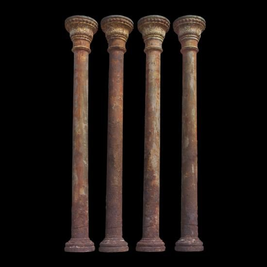 Cast Iron Columns : Images about columnas de forja cast iron columns on