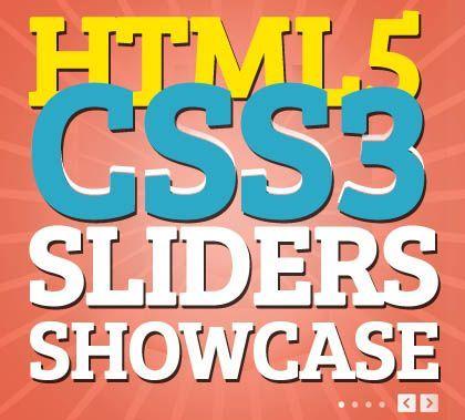 HTML5 and CSS3 Sliders Showcase