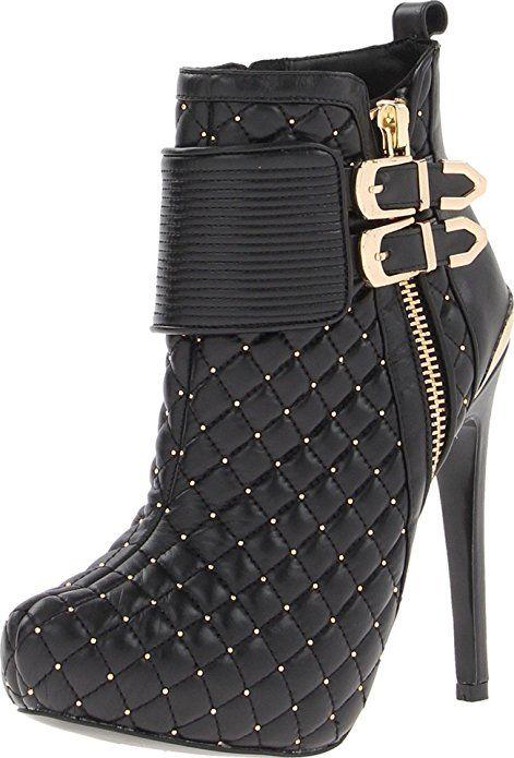 Steve Madden Women's KC-Wrkit Boot,Black