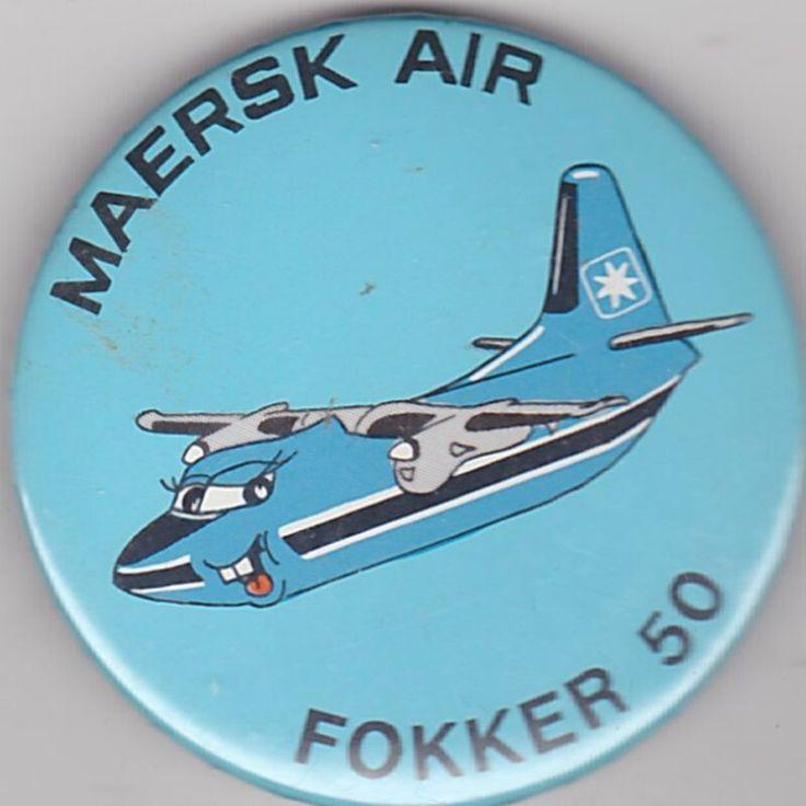 MAERSK AIR - FOKKER 50 BADGE