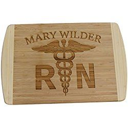 Extra Large - Personalized / Custom Engraved Bamboo Cutting / Carving Board - Wedding Gift, Anniversary Gifts, Housewarming Gift, Birthday Gift