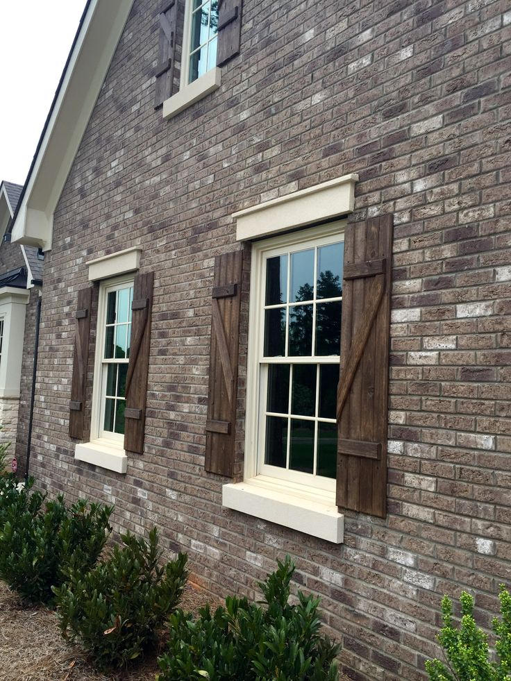 Arh plan castleberry exterior 34 brick boral savannah - Pictures of exterior shutters on homes ...