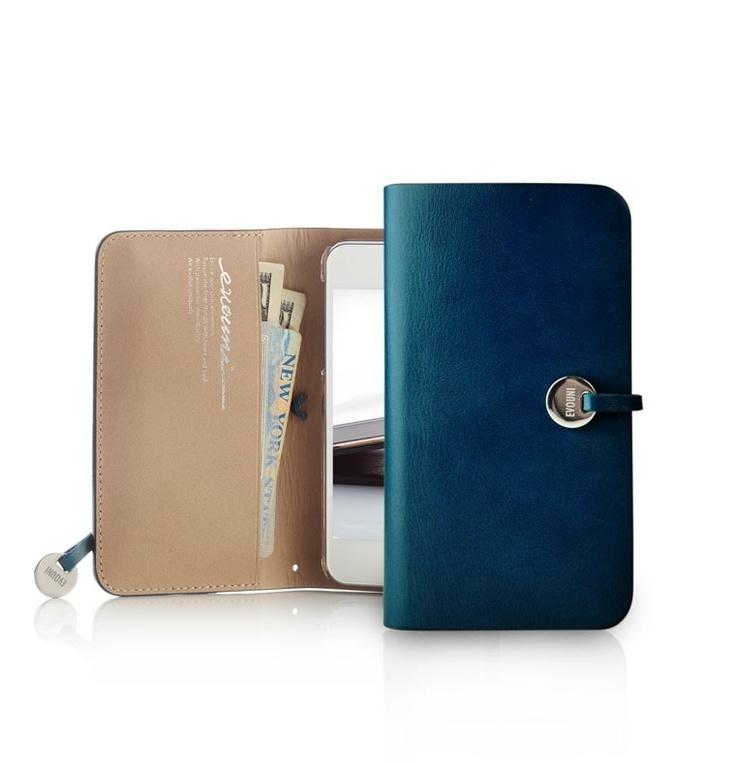 ide-home Store - Arc Wallet Case - Blue