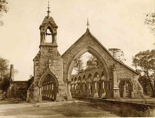Rookwood's Mortuary Station No. 1, 1952. Image courtesy State Records NSW.