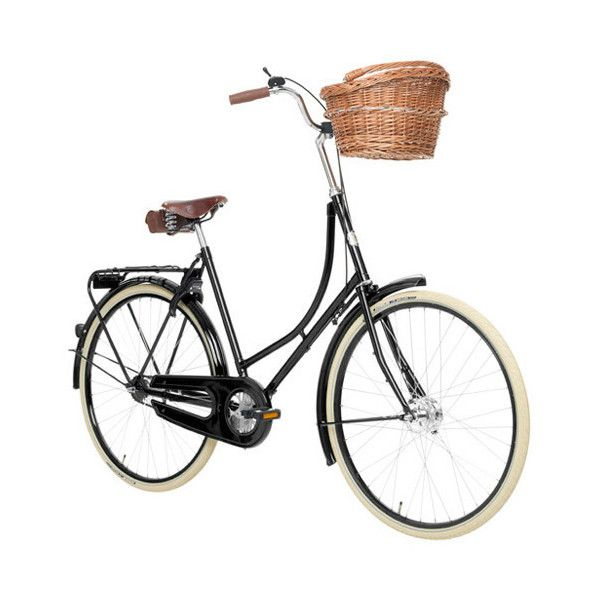 Studine Classic Ladies Bicycle | Velorbis Classic Bicycles ❤ liked on Polyvore featuring fillers, bicycle, decor and toys