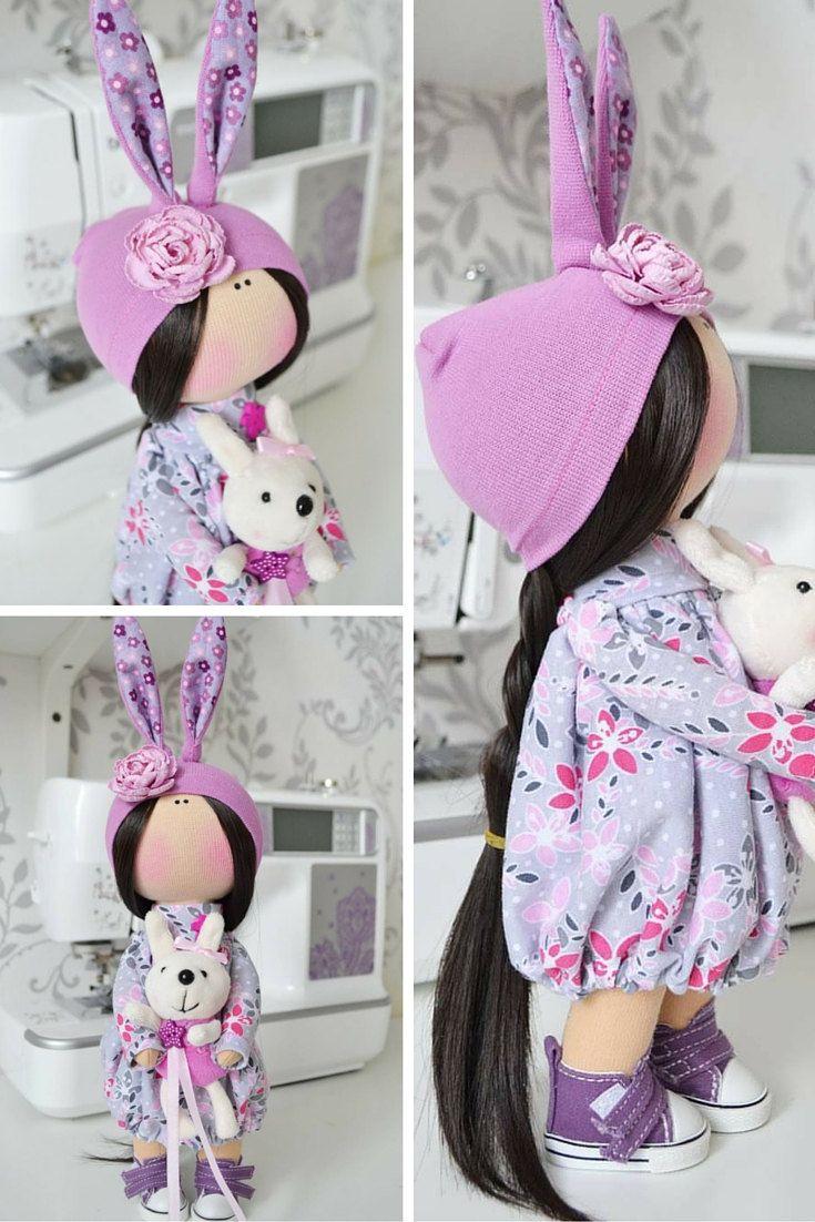 Handmade doll Love doll Tilda doll Art doll by AnnKirillartPlace