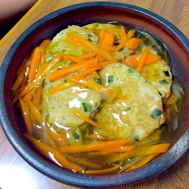 あんかけにすることで「手がかかっている風」に❗️ - 11件のもぐもぐ - 適当!豆腐ハンバーグ野菜あんかけ by kiyosan
