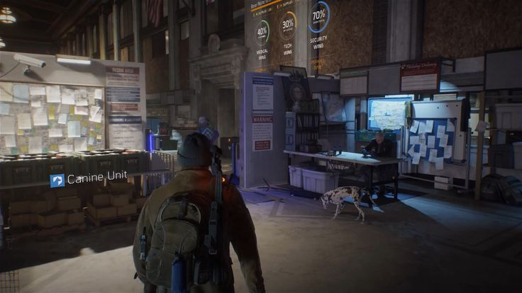 Tom Clancy's The Division trailer – canine unit, combat, weapon customisation and more