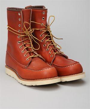 Red Wing Shoes 8 Classic Work Moc 877 skor – Skor online - Lester Skor Online