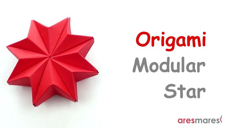 Origami Puffy Star (easy - modular) Make an easy christmas ornament with paper!!! #origami #unitorigami #howtomake #handmade #colorful #origamiart #diy #doityourself #paper #papercraft #handcraft #paperfolding #paperfold #paperart #papiroflexia #origamifolding #instaorigami #interior #instapaper #craft #crafts #creative #hobby #оригами #折り紙  #ユニット折り紙 #ハンドメイド #カラフル