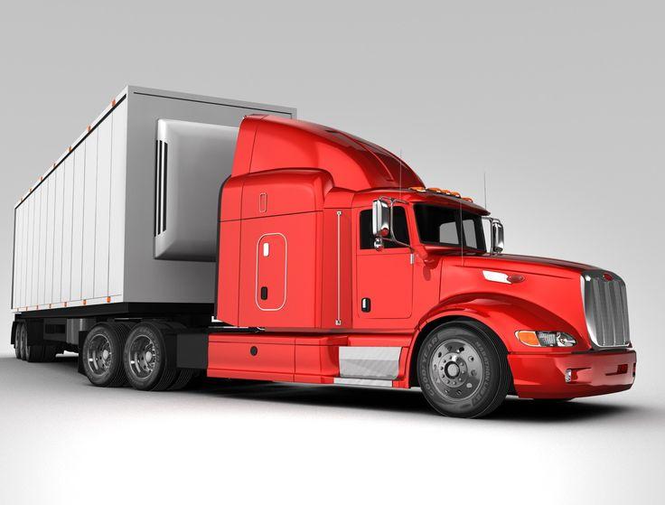 Truck Trailer 3D Model - 3D Model