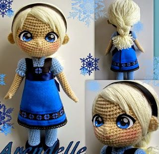 17 Best ideas sobre Muneca Elsa Frozen en Pinterest ...