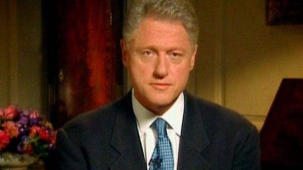 The '90s: The Last Great Decade?: The Clinton Lewinsky Scandal.  Published May 28, 2014 -  The release of the Starr Report puts the lurid and explicit details of President Clinton's affair with Monica Lewinsky on public record.