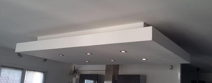 d roch plafond decaissement descendu suspendu placo plaque spot ilot centrale am nagement. Black Bedroom Furniture Sets. Home Design Ideas