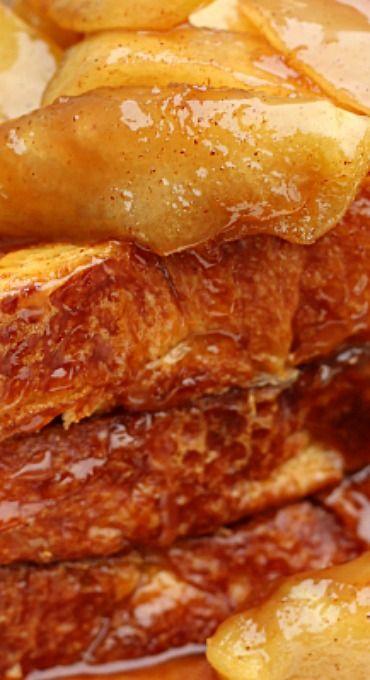 Caramel Maple Apple French Toast