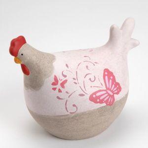 Poule papillon  Décoration romantique  Déco poule  C'est le grand retour en force de la poule!  Pour collectionneur ou en décoration.