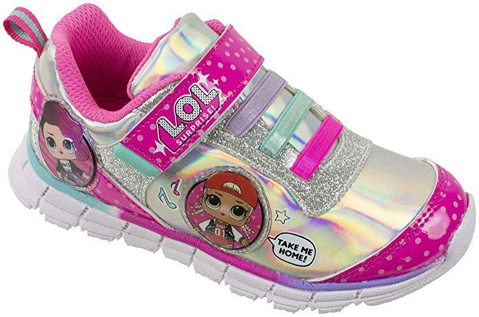 L.O.L Surprise Girls Sneakers, Light Up