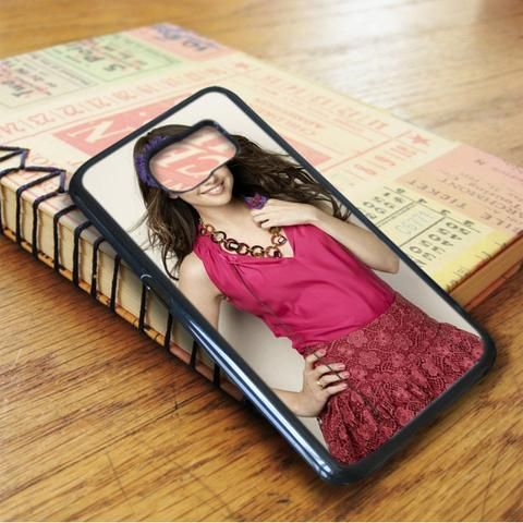 Selena Gomez Cute Smile Singer Idol Star Samsung Galaxy S7 Edge Case