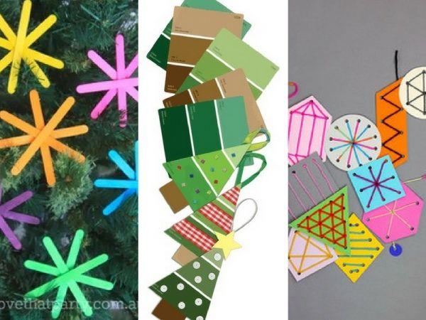 10 decorazioni natalizie DIY da realizzare in famiglia