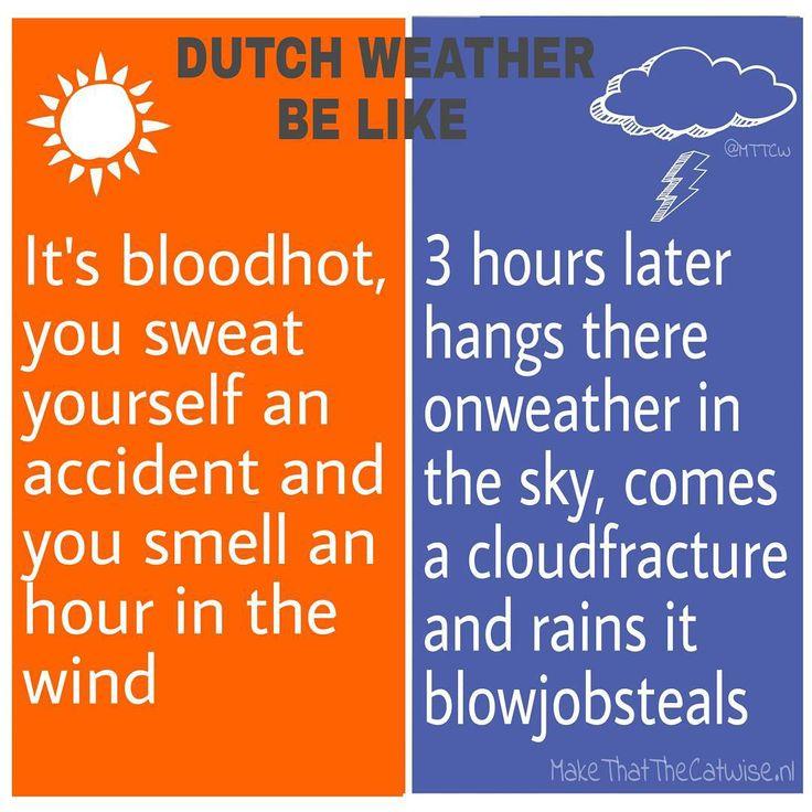 Dutch weather be like! #weer #hitte #strand