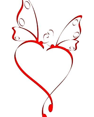 butterfly heart