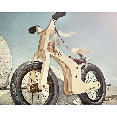 The Original Series Lite Bike from PoshTots (bike for tots too small to ride an actual bike{this has no pedals} but might be fun for them anyways)