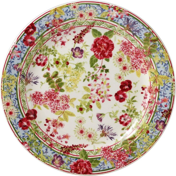 Gien France - Millefleurs Canape Plate