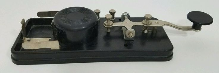 Telegraph Straight Key Morse Code CW Practice with Oscillator Ham Radio Japan #forsale Telegraph Straight Key Morse Code CW Practice with Oscillator Ham Radio Japan #telegraph #morsecode #cw #straightkey #oscillator #hamradio #amateurradio #morse #radio #hamr #vintage