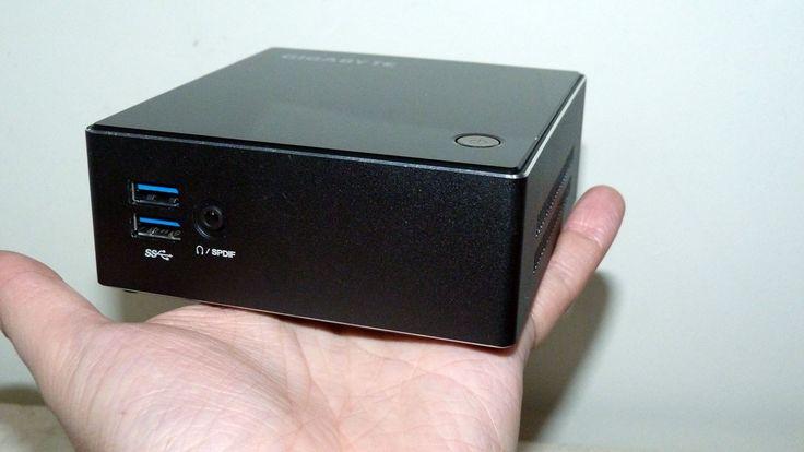Gigabyte Brix S Mini PC - http://www.tecnogaming.com/2015/07/gigabyte-brix-s-mini-pc/