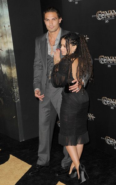 "Jason Momoa and Lisa Bonet Photo - Premiere Of Lionsgate Films' ""Conan The Barbarian"" - Arrivals"